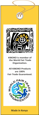 Kiboko is Fair Trade